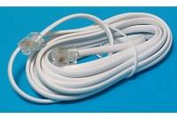 MODULAR PHONE LINE CORD RJ11 3m white