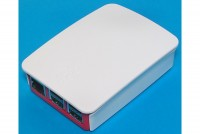 Raspberry Pi 3 PLASTIC ENCLOSURE REDWHITE