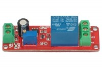 RELAY MODULE WITH 1 RELAY DELAY 0-10s 12VDC