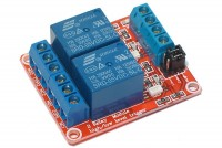 RELAY MODULE WITH TWO OPTO-ISOLATED RELAYS 5VDC