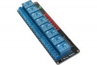 RELAY MODULE WITH 8 RELAYS 5VDC
