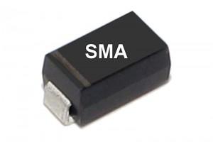 DIODE STANDARD RECTIFIER 1A 400V SMA