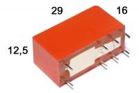 PCB RELAY DPDT 8A 24VAC