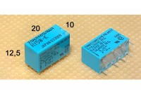 MINIATURE RELAY DPDT 1A 12VDC