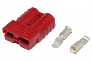 UPS BATTERY CONNECTOR 50A 600V RED