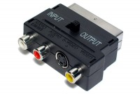 SCART-ADAPTERI IN/OUT