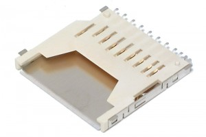 SD MEMORY CARD CONNECTOR PCB