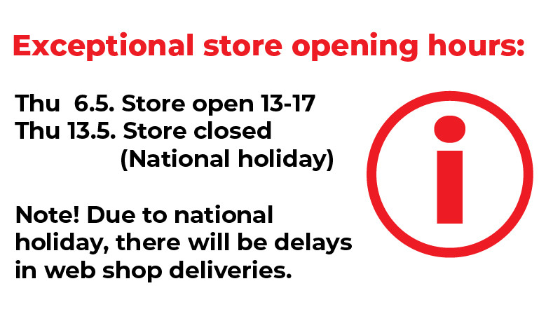 EXCEPTIONAL OPENING HOURS