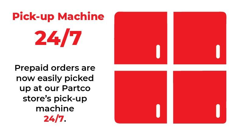 Pick-up Machine 24/7
