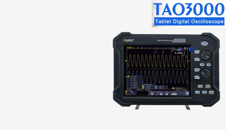 Owon TAO3000 sarjan tablettiskoopit