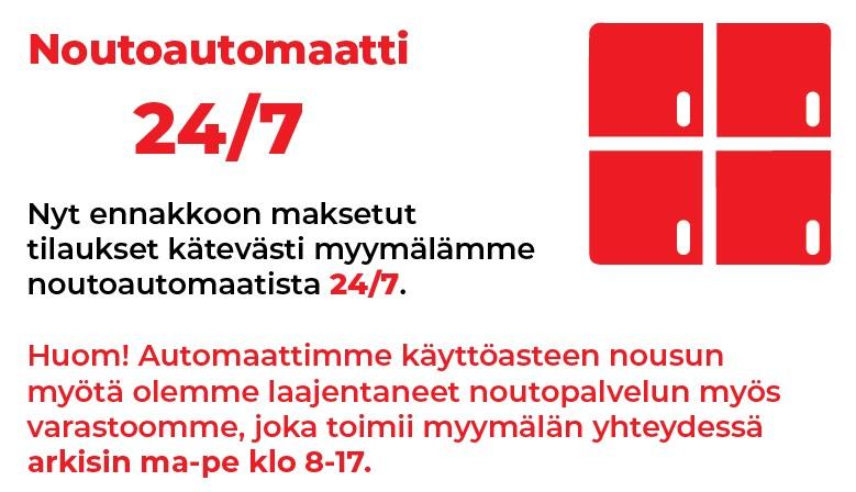 Noutoautomaatti 24/7