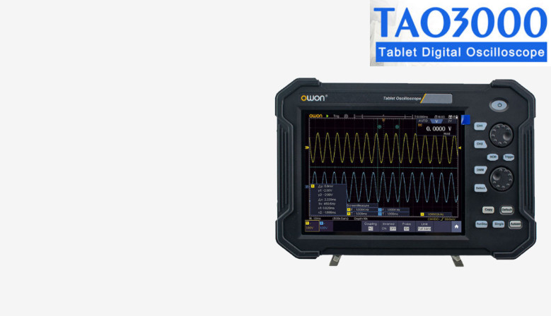 Owon TAO3000 Series Tablet Oscilloscopes