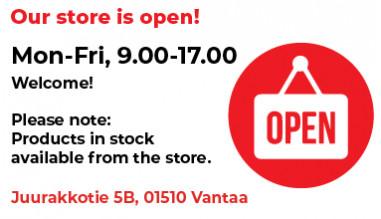 Partco Store Is Open